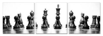 Chess figures Schilderij