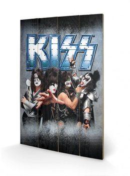 Kiss - Monsters Schilderij op hout