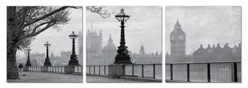 London - Westminster Palace Schilderij