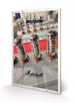 MARSHALL - the kings of england Schilderij op hout