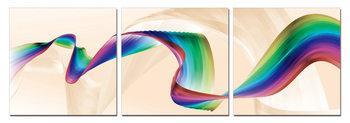 Modern Design - Rainbow Schilderij