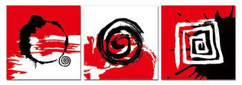Modern design - Trilogy Schilderij