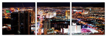 Night metropolis Schilderij