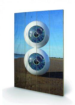 Pink Floyd - Pulse Schilderij op hout