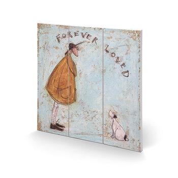 Sam Toft - Forever Loved Schilderij op hout