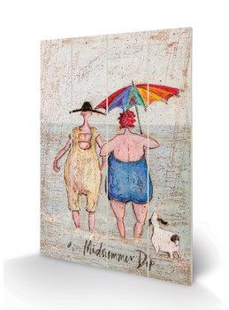 Sam Toft - Midsummer Dip Schilderij op hout