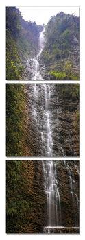 Sinuous waterfall Schilderij