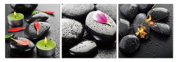 Spa - stones Schilderij