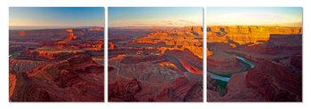 Sunrise over the Grand Canyon Schilderij