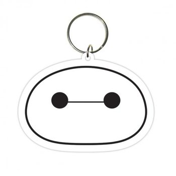 Schlüsselanhänger Baymax - Riesiges Robowabohu (Head)