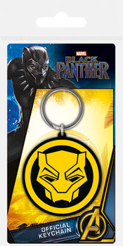 Schlüsselanhänger  Black Panther - Logo