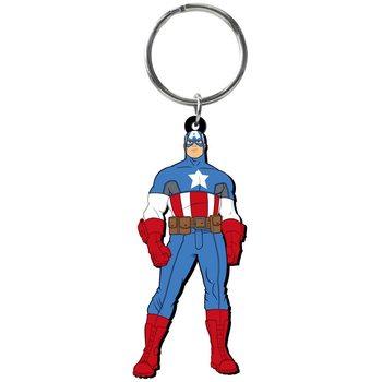 Schlüsselanhänger Captain America - Figure