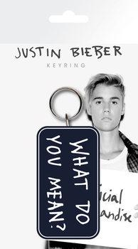 Schlüsselanhänger Justin Bieber - What Do You Mean