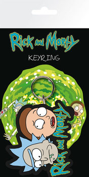 Schlüsselanhänger Rick & Morty