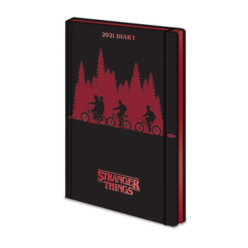 Schreibwaren Diary 2021 - Stranger Things (EN)