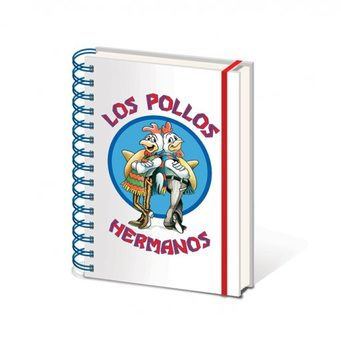 Schreibwaren Breaking Bad - Los Pollos Hermanos A5