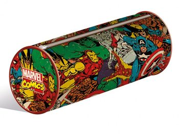 Schreibwaren Marvel Retro - Collage pencil case