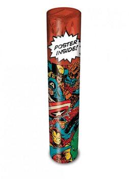 Schreibwaren Marvel Retro - Collage travel set