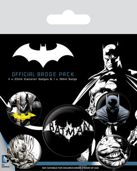 Set insigne  Batman - Dark