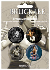 Set insigne BRUCE LEE