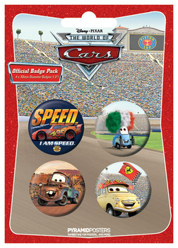 Set insigne CARS 2