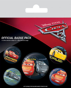 Set insigne  Cars 3 - Characters