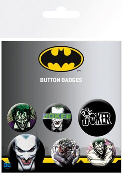 Set insigne DC Comics - Joker