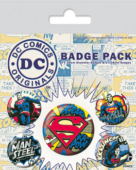 Set insigne  DC Originals - Batman Comic