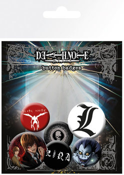 Set insigne DEATH NOTE - Mix