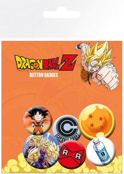 Set insigne Dragon Ball Z - Mix