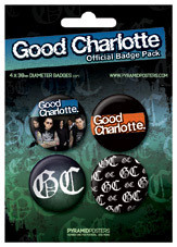 Set insigne GOOD CHARLOTTE