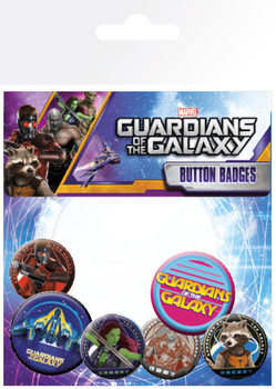 Set insigne Guardians Of The Galaxy - Characters