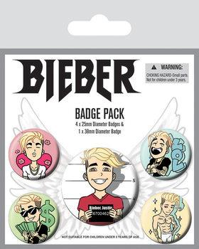 Set insigne  Justin Bieber - Emojis