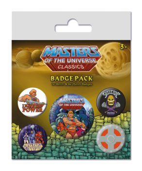 Set insigne  Masters of the Universe - I have the Power