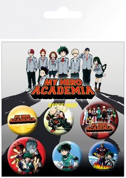 Set insigne  My Hero Academia - Mix
