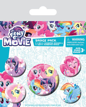Set insigne  My Little Pony Movie - Friendship Blooms
