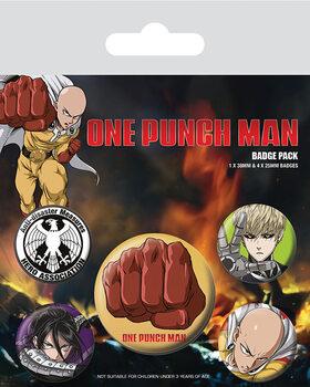 Set insigne One Punch Man - Destructive