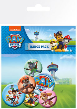 Set insigne  Paw Patrol - Mix