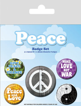Set insigne Peace