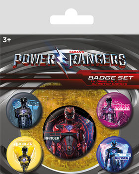 Set insigne Power Rangers - Rangers