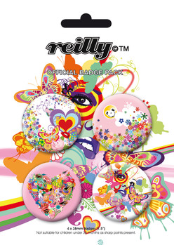 Set insigne REILLY