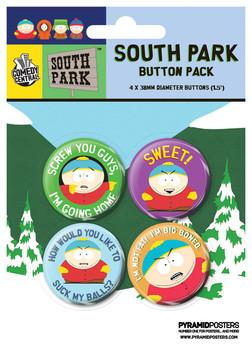 Set insigne SOUTH PARK - Cartman