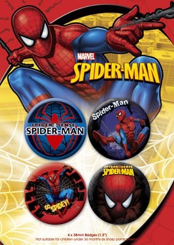 Set insigne SPIDER-MAN 2