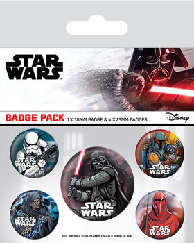Set insigne  Star Wars - Dark Side