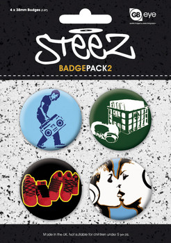 Set insigne STEEZ - Pack 2