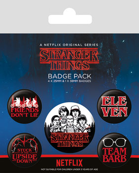 Set insigne Stranger Things - Characters