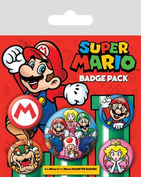 Set insigne Super Mario