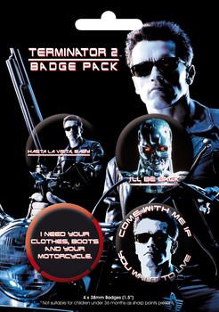 Set insigne TERMINATOR 2 GB Pack