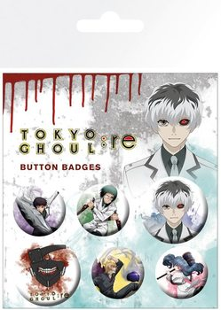 Set insigne  Tokyo Ghoul - Mix