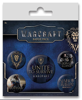 Set insigne Warcraft - The Alliance